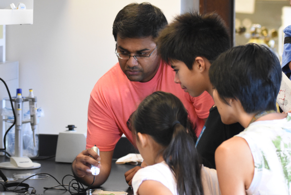 suresh with small children